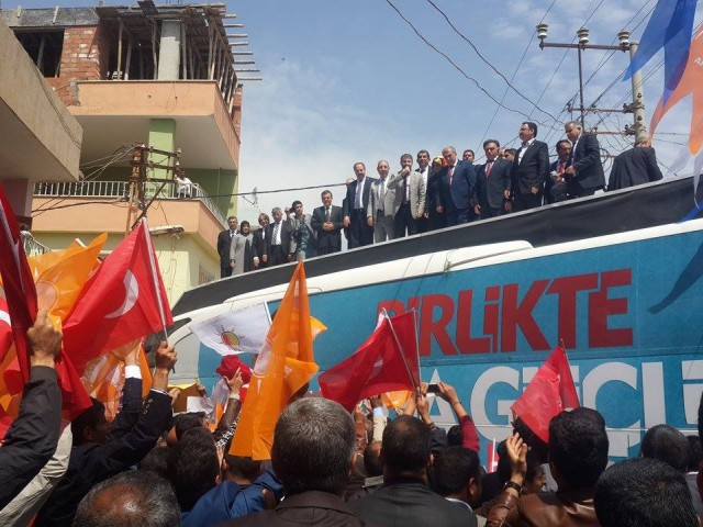 AK Parti Şanlıurfa Milletvekili adayları Ceylanpınar'da