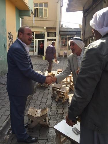 CHP Şanlıurfa Milletvekili Adayı Ali Ersöz, Viranşehir'den destek istedi