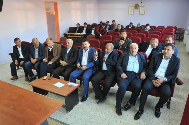 Harran Ziraat Odası Başkanı Mahmut Özyavuz güven tazeledi
