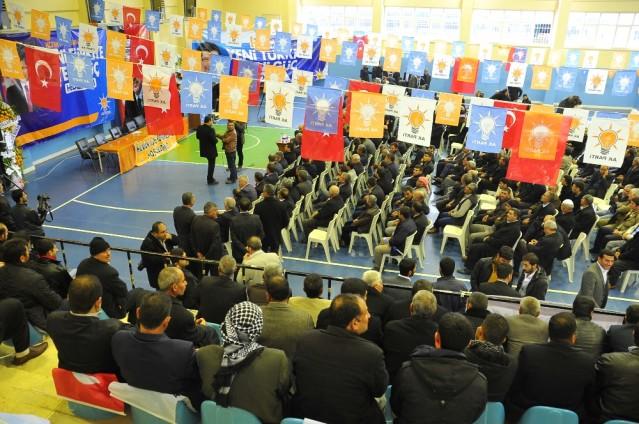 AK Parti Hilvan ilçe kongresi
