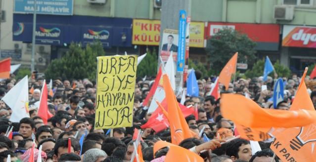 Başbakan Erdoğan'ın Şanlıurfa mitingi