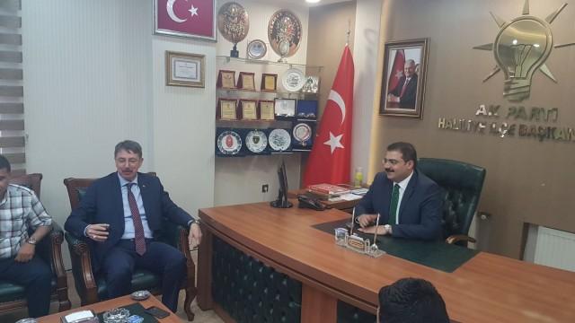 AK Parti Şanlıurfa Milletvekili aday adayı Uğur Büyükhatipoğlu Urfa'da