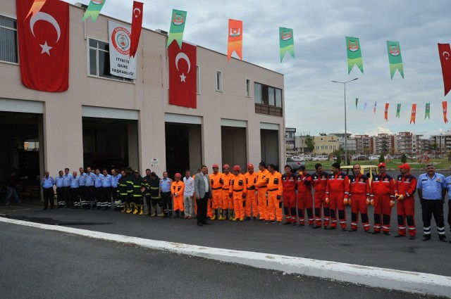 Şanlıurfa Büyükşehir Belediyesi İtfaiye Daire Başkanlığının İtfaiye Haftası kutlama programı