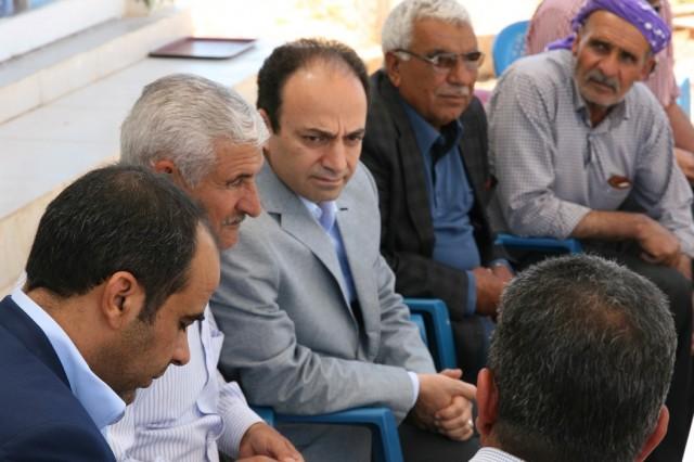 HDP Şanlıurfa Milletvekili Adayı Osman Baydemir seçim çalışmalarını sürdürüyor