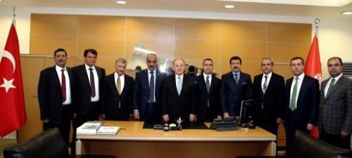 İlçe Belediye Başkanları İstanbul BŞB ziyareti