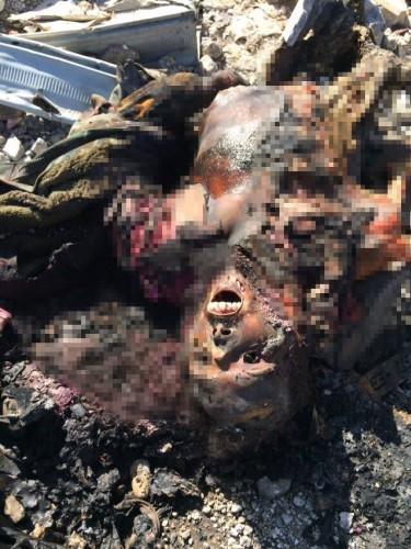 Kobani'den tüyler ürperten fotoğraflar
