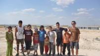 Kanadalı öğrenciler Suruç'a geldi