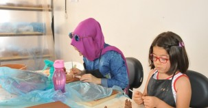 Kadınlar kurslarla sosyalleşiyor