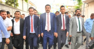 Şanlıurfa Milletvekili İbrahim Halil Yıldız Suruç'ta