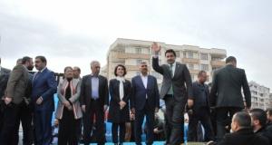 AK Parti Haliliye Belediye Başkan Adayı Mehmet Canpolat'ın seçim bürosu açılışı