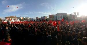 Cumhurbaşkanı Recep Tayyip Erdoğan'ın Urfa mitingi