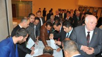 AK Parti Şanlıurfa Milletvekili Aday Adayları AK Parti İl Başkanlığının düzenlediği yemekte buluştu