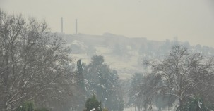 İşte Uğur Budak'ın objektifinden Balıklıgöl ve Urfa Kalesi'nden kar manzaraları…