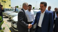 Bakan Faruk Çelik Şanlıurfaspor'u ziyaret etti