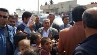AK Parti Şanlıurfa Milletvekili ve milletvekili adayı Mehmet Akyürek, Ceylanpınar İlçesine bağlı köyleri gezdi