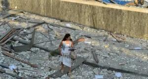 Lübnan Beyrut'ta yaralar sarılmaya çalışılıyor