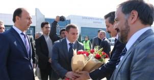 Bakan Faruk Çelik'in 2 günlük Urfa mesaisi dolu dolu geçti