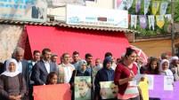 HDP Şanlıurfa Milletvekili Adayları İbrahim Ayhan ve Rasim Çakmak seçim çalışmalarını sürdürüyor