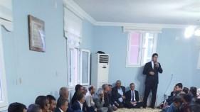 Milletvekili İbrahim Halil Yıldız, Suruç'u karış karış geziyor