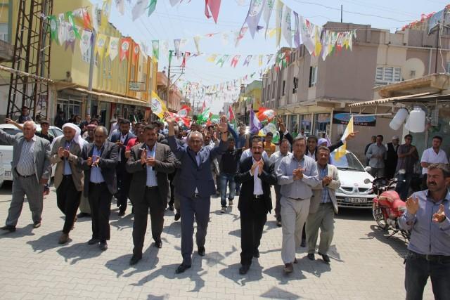 Şanlıurfa'da HDP'ye katılımlar sürüyor