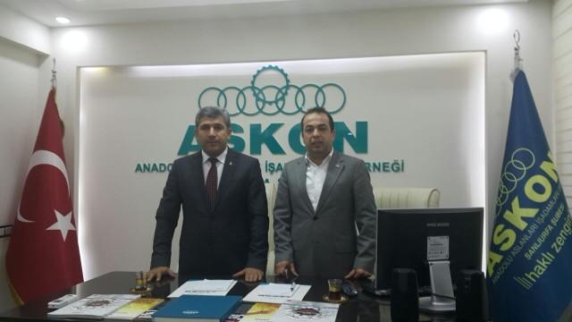 Urmak ASKON, MÜSİAD ve TÜMSİAD'dan destek istedi