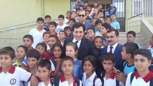 Şanlıurfa Valisi İzzettin Küçük okul ziyareti
