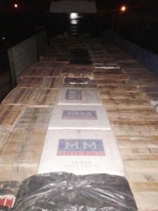 170 bin paket kaçak sigara ele geçirildi