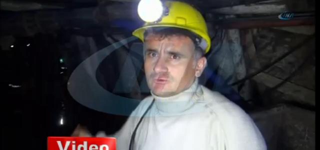 18 işçinin kurtarılma çalışmaları kameralara yansıdı