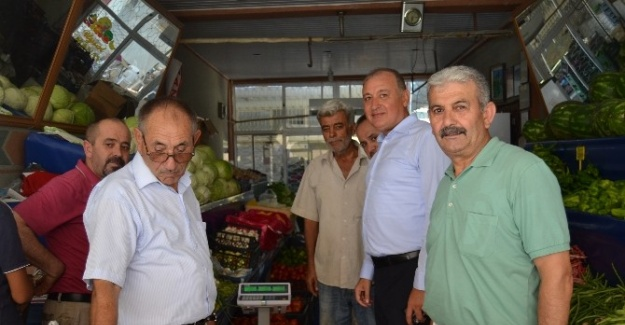 Aesob Başkanı Sevimçok, Gazipaşa'da
