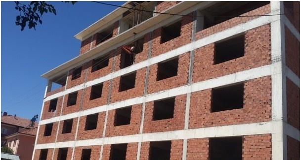 Doğanşehir Müftülüğü'ne Bağlı Hizmet Binası İnşaatı Devam Ediyor