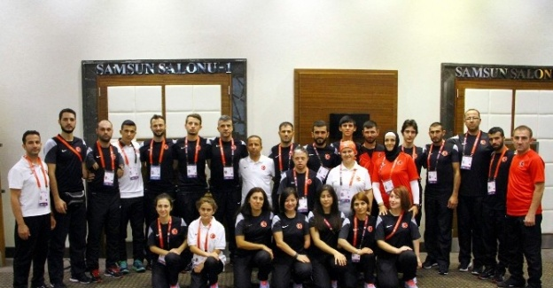 Para-tekvandocuların Hedefi Şampiyonluk