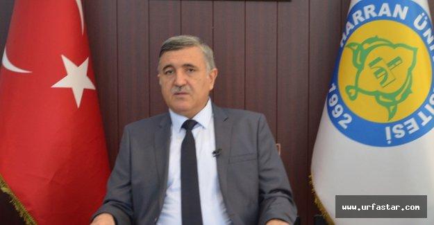 Rektör Taşaltın'dan kutlama...