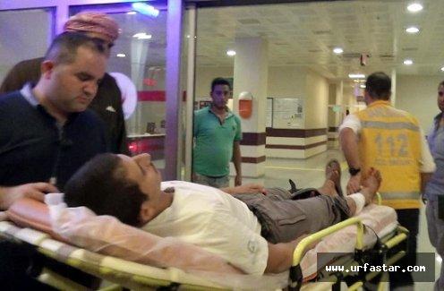 Suriyeli bacağından bıçaklandı