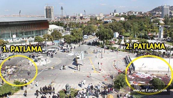Ankara'daki patlamada sürpriz görüntü!