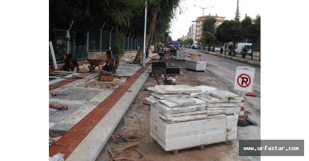 Büyükşehir caddelere el attı