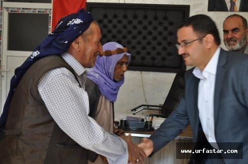 Kaçar: Sorunların çözüm adresi AK Parti'dir