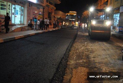 Süleymaniye asfaltlanıyor
