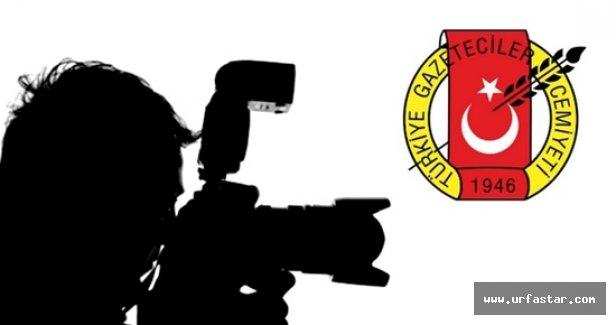 TGC'den Urfalı gazeteciye ödül!