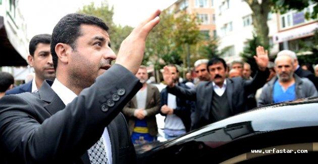 Demirtaş'a silahlı saldırı