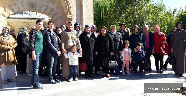 Hilvan Belediyesinden Bayan Kursiyerlerine Gezi