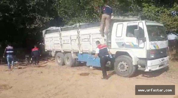 Jandarma yakaladı: Çalıntı kamyonla…