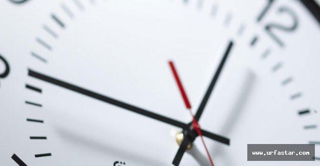 Saatleri geri almayı unutmayın!