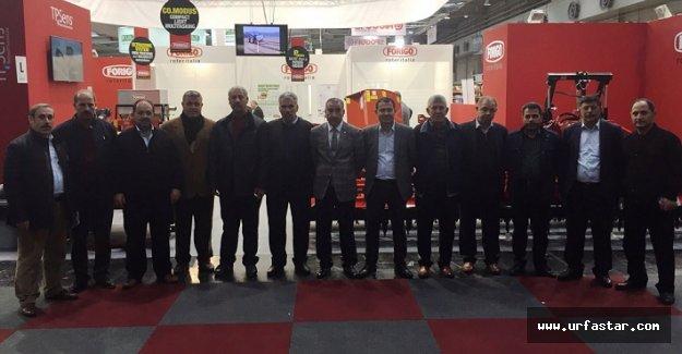 ŞUTB Meclis üyeleri Hannover Fuarı'nda