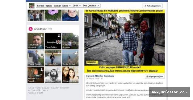 Urfa'da şehit düşen polisin dikkat çeken paylaşımı...