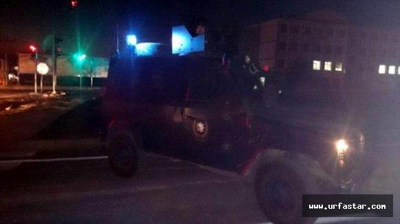 Viranşehir'de polis aracına bombalı tuzak