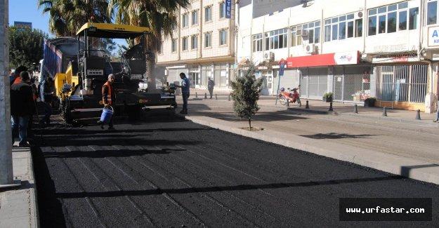 Asfalt Caddesi'ne yeni yol