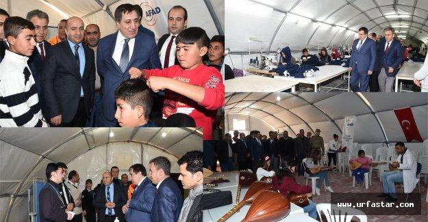ÇADIRKENT'TE MESLEK SAHİBİ OLUYORLAR