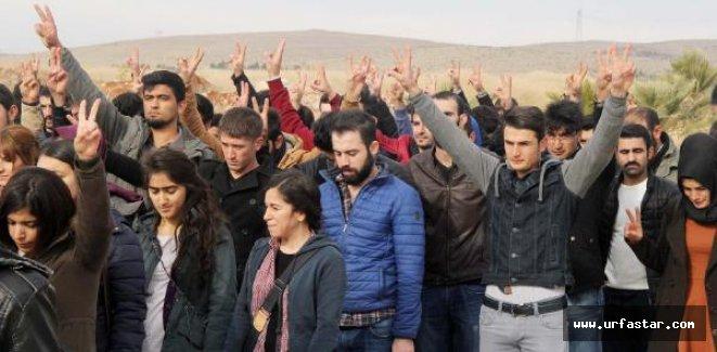 Harran Üniversitesi'nde Uludere protestosu