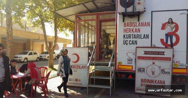 Harran Üniversitesinden kan bağışına destek