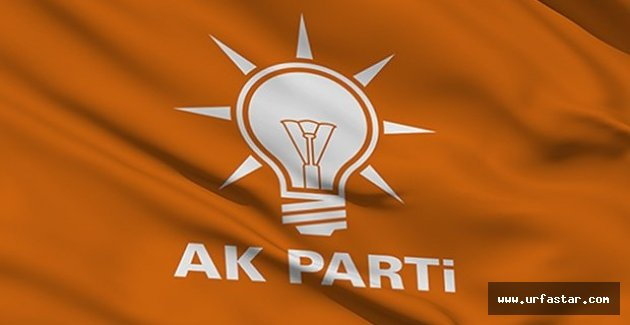 AK Parti Urfa İl Başkanlığında flaş gelişme...
